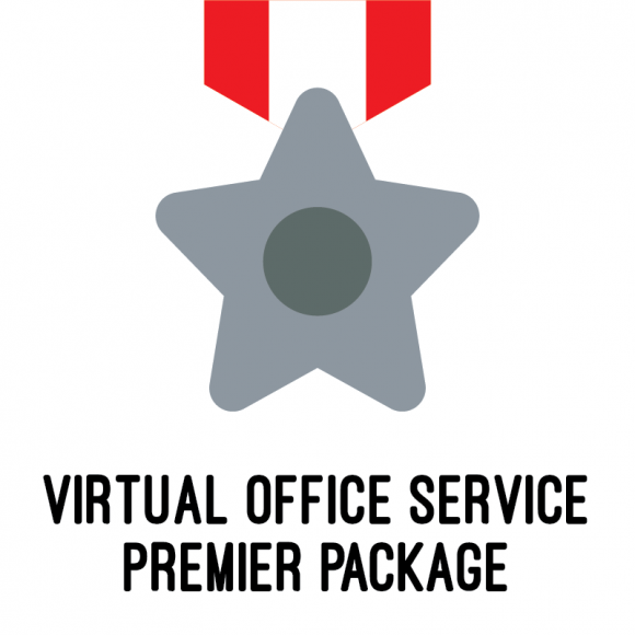 virtual office service package premier