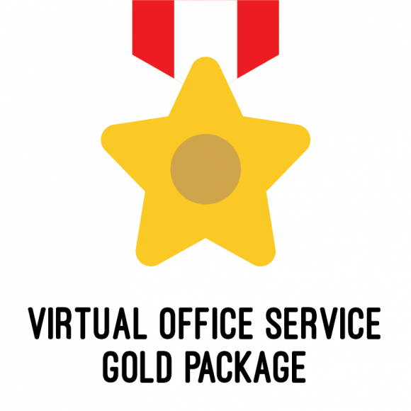 virtual office service package gold